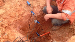 MP406 Theta Probe Sensors to Measure Lysimeter Infiltration