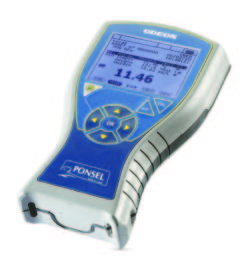 Odeon Handheld readout and logger