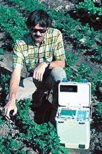 Trase system, portable for use in the field