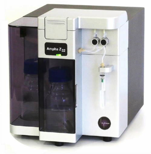 Ampha Z32 for Impedance Flow Cytometry