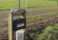 GTLA Autosampler Placed At Edge Of Cultivated Area