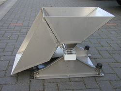 Runoff V2A Stainless Steel Tipping Counter
