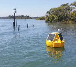 ICT Data Buoy mount within IoT System