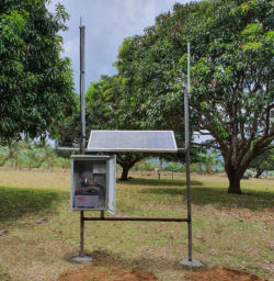 ICT-RMS LoRaWAN gateway supporting nodes monitoring of tree crop in Philippines